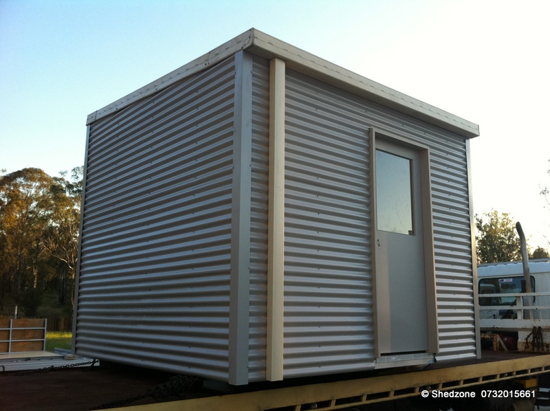 Small transportable office shedzone for Build your own backyard office