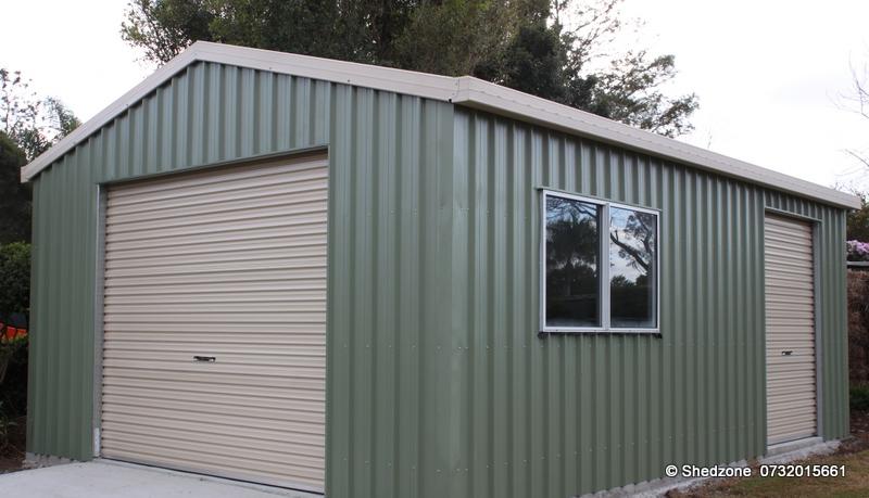 Shedzone Brisbane S Independent Builder Of Garage Sheds