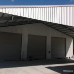 Gable Awning Farm Shed