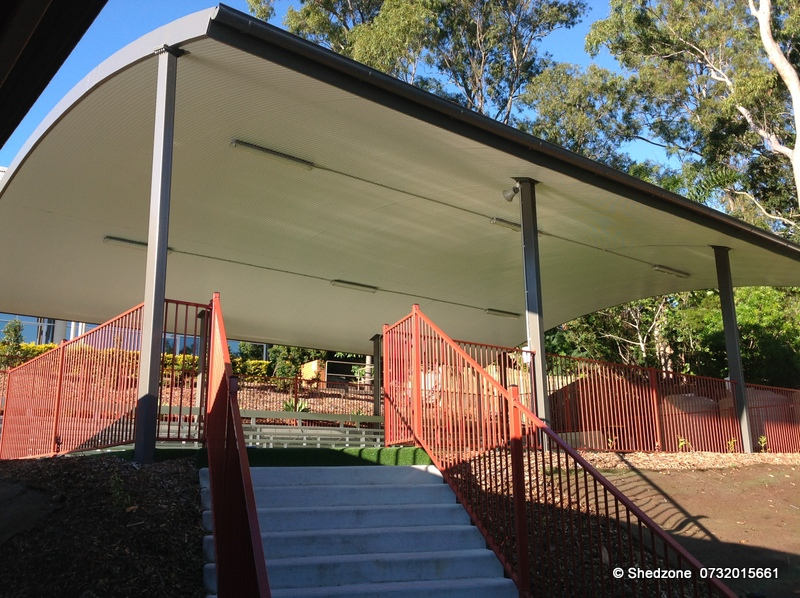 Shedzone Covered Outdoor Learning Areas Colas Brisbane