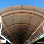 School Steel Covered Walkway