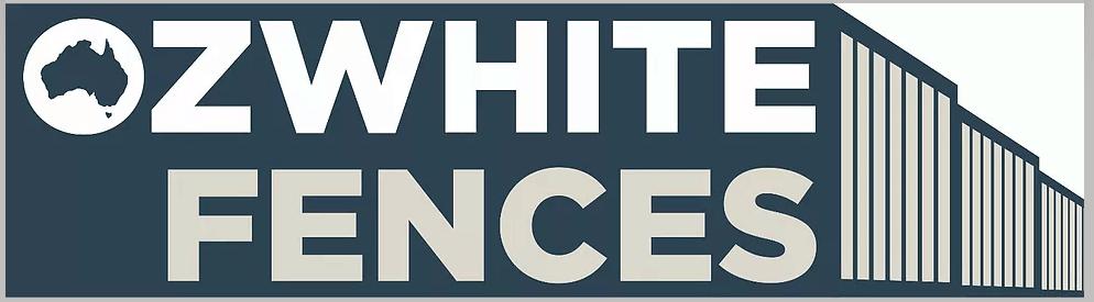 Oz White Fences